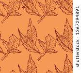 vector seamless textured grunge ...   Shutterstock .eps vector #1367294891