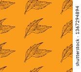 vector seamless textured grunge ...   Shutterstock .eps vector #1367294894