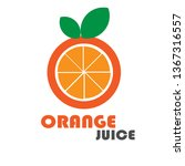 logos and icons for juice and... | Shutterstock .eps vector #1367316557