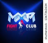 mixed martial arts. vector... | Shutterstock .eps vector #1367362634