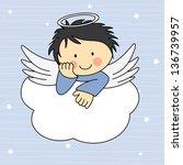 Angel Wings On A Cloud....