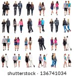 """collection """"back view of... 