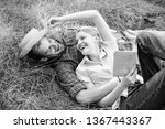 couple in love spend leisure... | Shutterstock . vector #1367443367