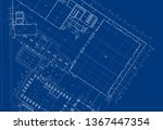 write a blueprint architecture. | Shutterstock . vector #1367447354