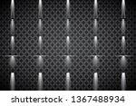 collection of lighting scenes ... | Shutterstock .eps vector #1367488934