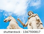 one of the statues of the... | Shutterstock . vector #1367500817