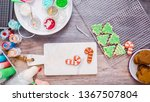 flat lay. step by step.... | Shutterstock . vector #1367507804
