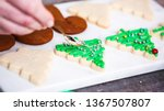 step by step. decorating... | Shutterstock . vector #1367507807