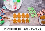 flat lay. step by step.... | Shutterstock . vector #1367507831