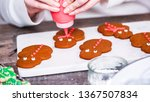 step by step. decorating... | Shutterstock . vector #1367507834