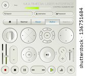 multimedia user interface set   ...