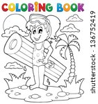 Coloring Book Summer Activity ...