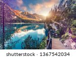 wonderful sunrise view of...   Shutterstock . vector #1367542034