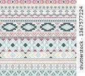 mayan american indian pattern...   Shutterstock .eps vector #1367577224