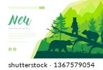 forest wildlife landing page...