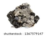 macro stone mineral galena on... | Shutterstock . vector #1367579147