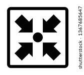 meeting point symbol | Shutterstock . vector #1367685647
