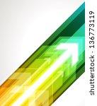 arrows vector background. eps 10 | Shutterstock .eps vector #136773119