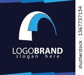 abstract logo vector template   Shutterstock .eps vector #1367737154