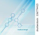 medical background | Shutterstock .eps vector #136774415