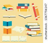 Collection Of Vector Book Set....