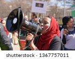 washington usa   march 17  2019 ... | Shutterstock . vector #1367757011