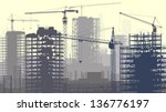 horizontal vector illustration... | Shutterstock .eps vector #136776197