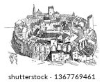 the amphitheater that shows... | Shutterstock .eps vector #1367769461