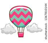 balloon vector cartoon clipart | Shutterstock .eps vector #1367810144