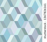 geometric pattern   background   Shutterstock .eps vector #1367826161