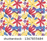 seamless pattern colorful... | Shutterstock .eps vector #1367855684