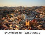 colorful view of the city of... | Shutterstock . vector #136790519