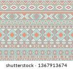 navajo american indian pattern... | Shutterstock .eps vector #1367913674