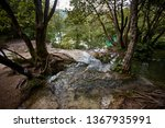 plitvice lakes national park is ... | Shutterstock . vector #1367935991