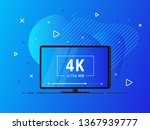modern abstract screen tv with... | Shutterstock .eps vector #1367939777