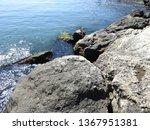 seaside landscape  rocky...   Shutterstock . vector #1367951381