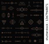 modern vector line symbol set...   Shutterstock .eps vector #1367968871