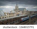 brest  belarus  circa march... | Shutterstock . vector #1368015791
