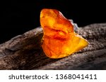 Natural Amber. A Piece Of...