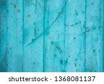 Blue Grunge Wood Panel...