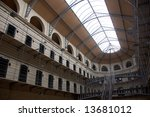Stock photo old abandoned victorian prison kilmainham gaol 13681012