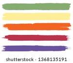 grunge paint roller . vector... | Shutterstock .eps vector #1368135191