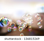 Soap Bubbles  Abstract...