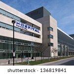 modern style hospital building | Shutterstock . vector #136819841