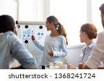 professional woman leader... | Shutterstock . vector #1368241724