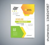 business abstract vector... | Shutterstock .eps vector #1368269387