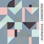 geometric pattern. ethnic... | Shutterstock .eps vector #1368340304