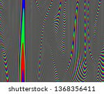 tv distorted rgb abstract... | Shutterstock . vector #1368356411