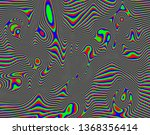 tv distorted rgb abstract... | Shutterstock . vector #1368356414