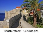 City Walls Of Dubrovnik  Croatia